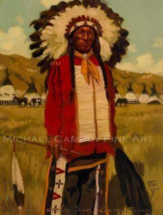 """Sioux Holyman Powder River 18""""x24"""""""