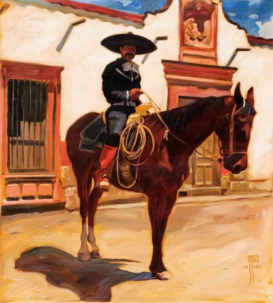 """El Charro Jalisco 38"""" X 42"""""""
